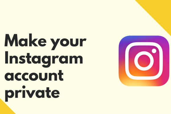 make instagram profile private