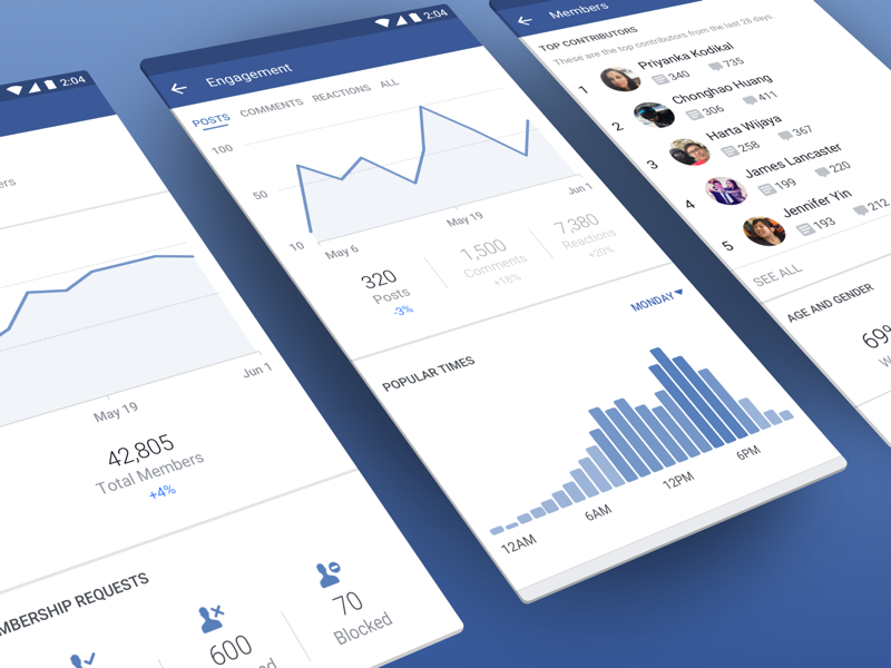 how to analyze facebook group insights