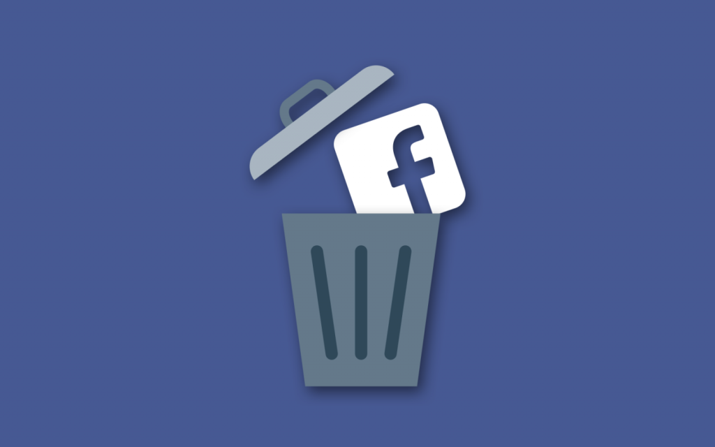 How to deactivate face book account