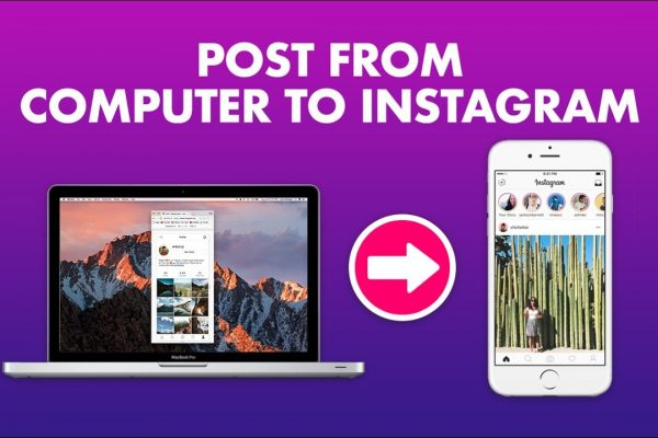 how to post photos to instagram using computer