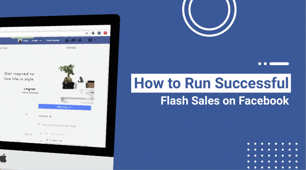 guide on running flash sales on facebook