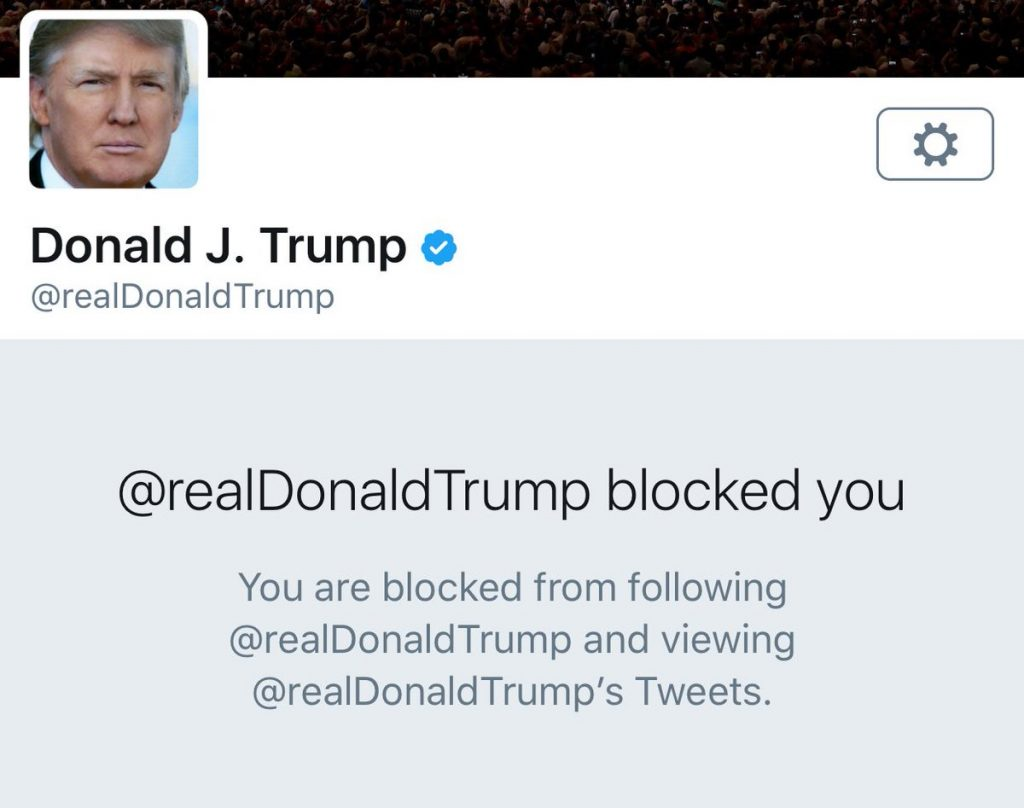Blocks you someone when How to