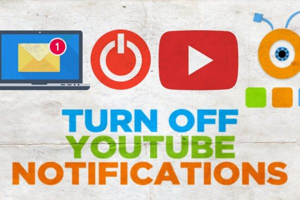 how to stop receiving email notifications from youtube