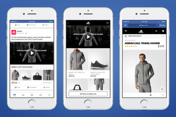 how to use facebook collection ads