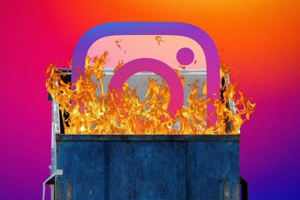 how to report instagram account