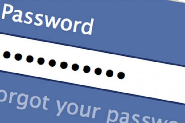 how to change facebook profile password