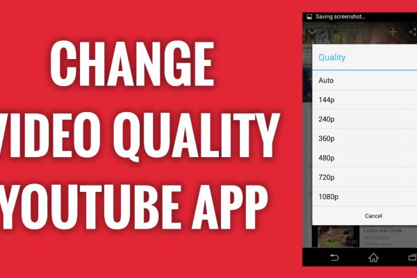 How to change video quality on YouTube App