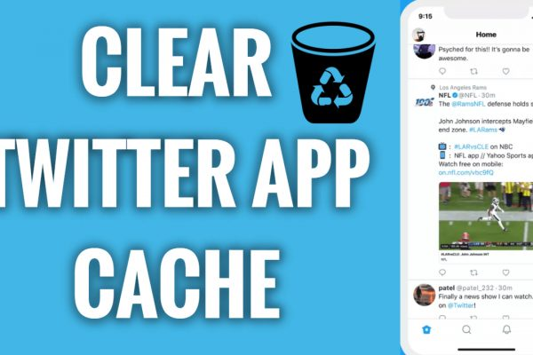 How to clear Twitter App cache on mobile