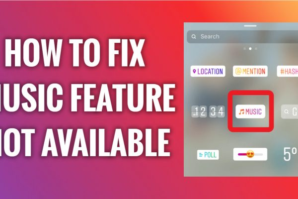 How to fix instagram story music feature not available problem