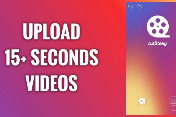 How to upload 15+ second videos on Instagram stories