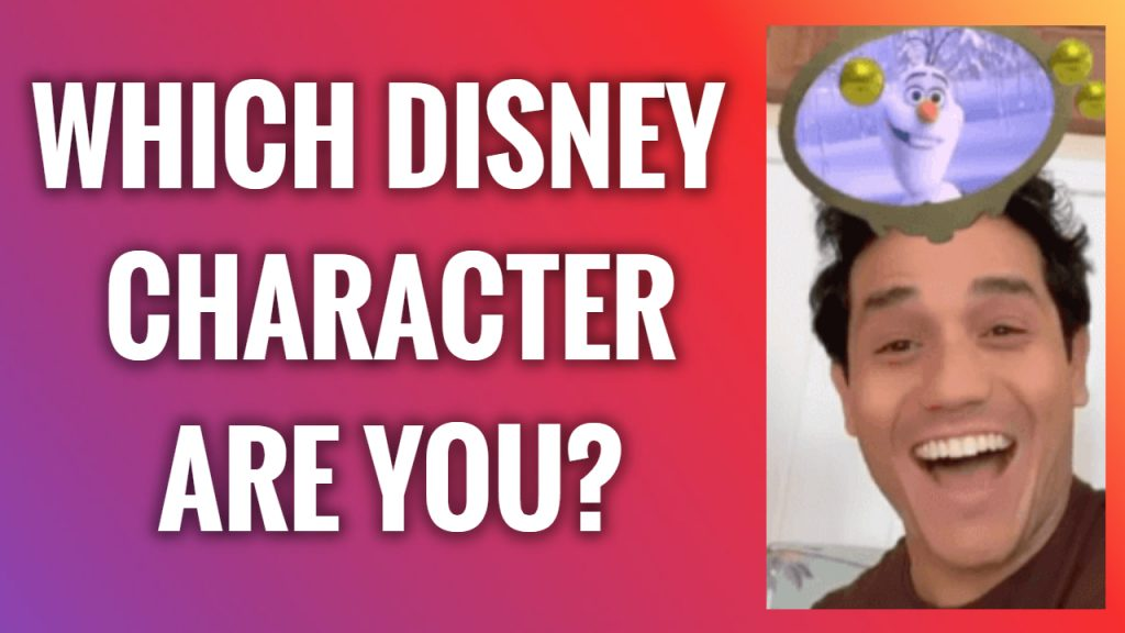 How To Get Which Disney Character Are You Filter On Instagram