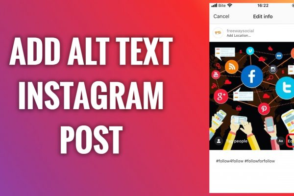How to add alt text to your Instagram post