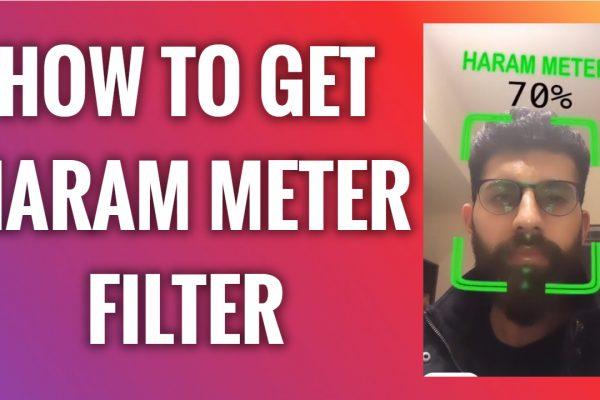 How to get Haram meter filter on Instagram