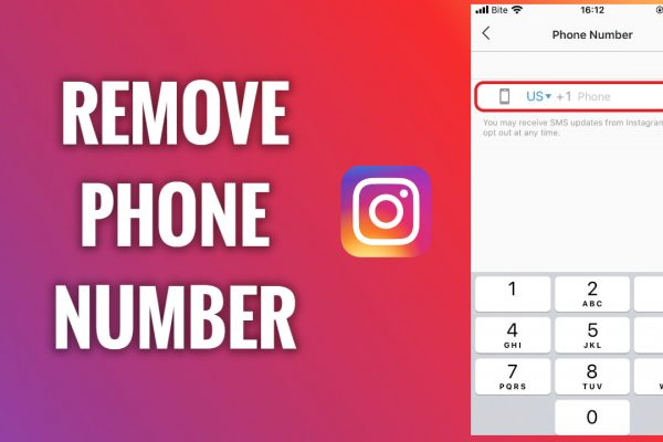 How to remove phone number from your Instagram profile