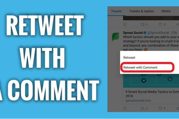 How to Retweet With a Comment on Twitter