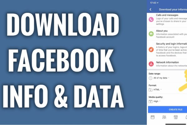 How to download all of your Facebook information & data