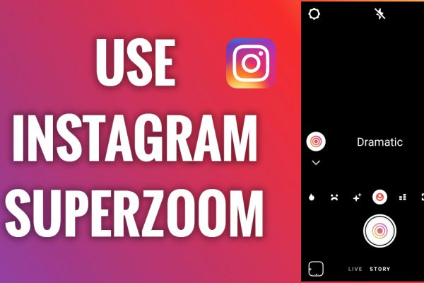 How to use superzoom on Instagram