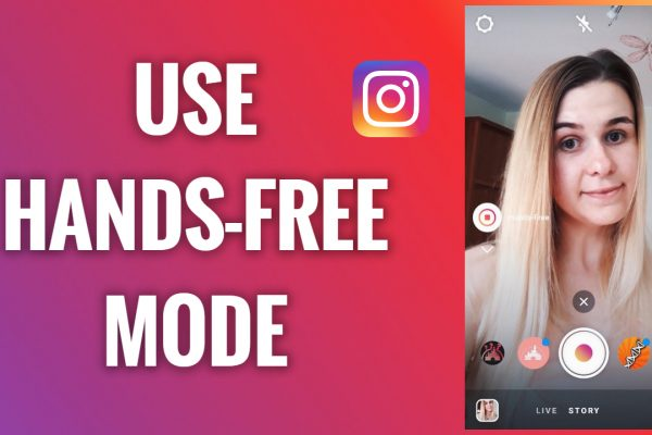 How to use the hands-free mode on Instagram Stories