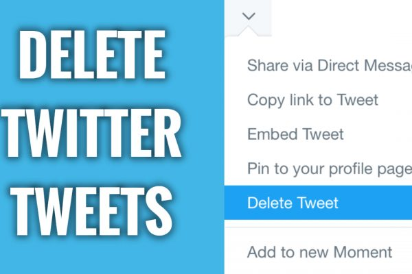 How to Delete Twitter Tweets Fast & Easy