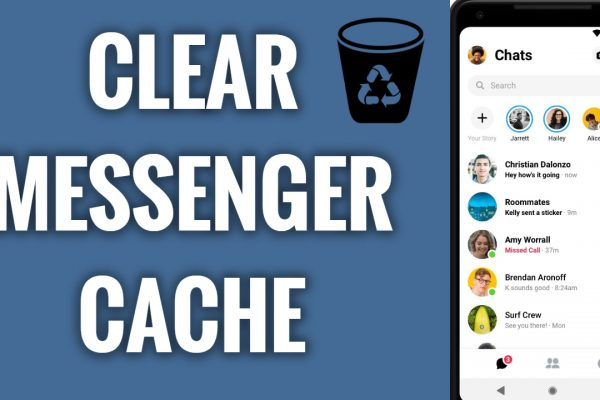 How to clear Facebook Messenger App cache