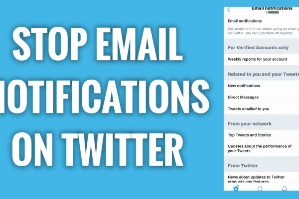 How to Stop Receiving Email Notifications on Twitter App