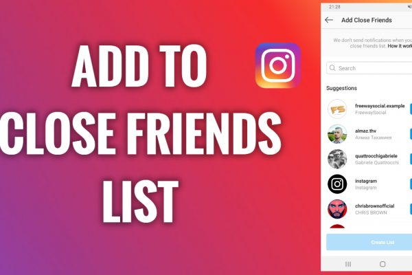 How to add people to your close friends list on Instagram