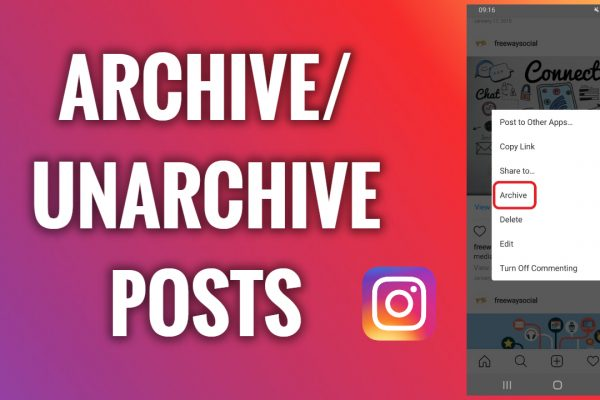 How to archive and unarchive Instagram posts