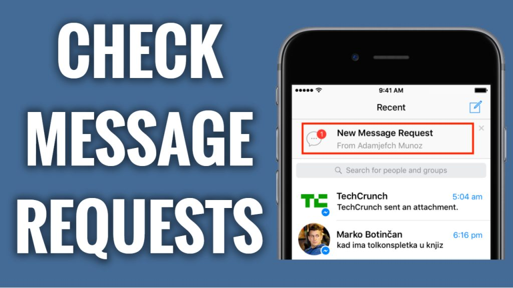 How to check message requests on Facebook Messenger