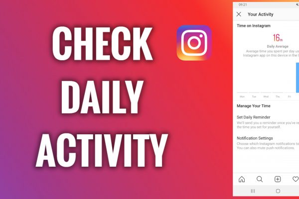 How to check your daily activity on Instagram