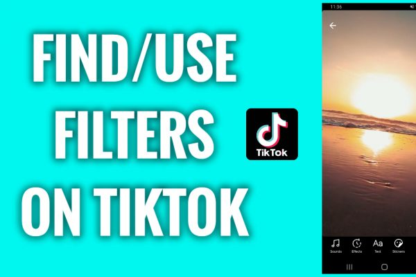 How to find and use filters on TikTok