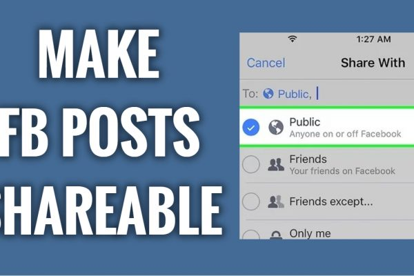 How to make your Facebook posts shareable