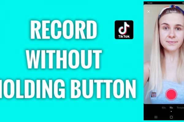 How to record TikTok videos without holding a button