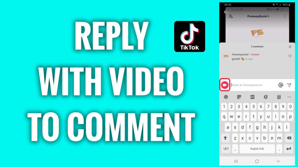 How to reply with a video to comments on TikTok
