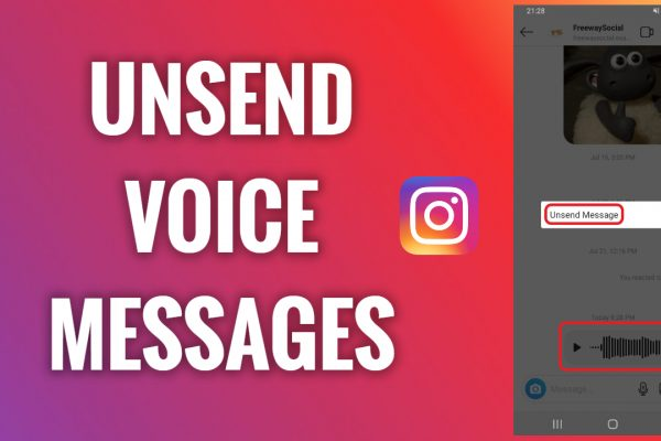 How to unsend Instagram voice messages
