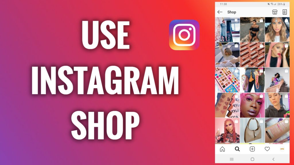 How to use an Instagram shop