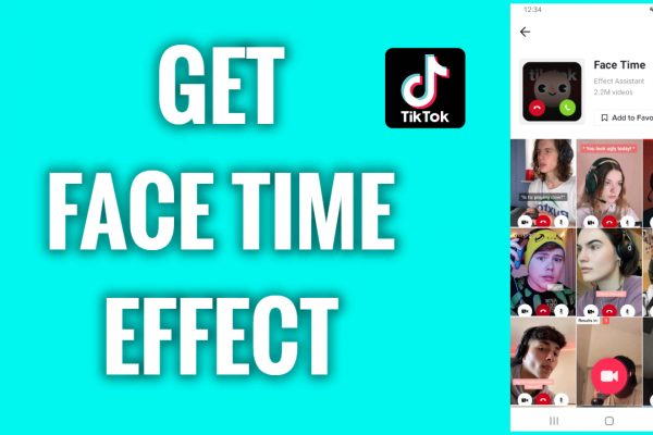 How to get a Face Time effect on TikTok