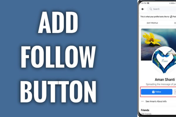 How to add Follow button to your Facebook profile