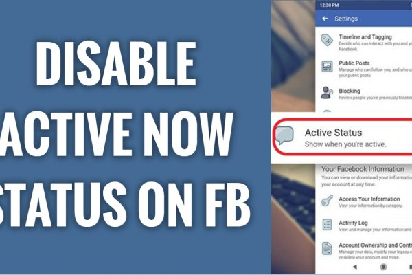 How to disable Active now status & Appear Offline on Facebook App