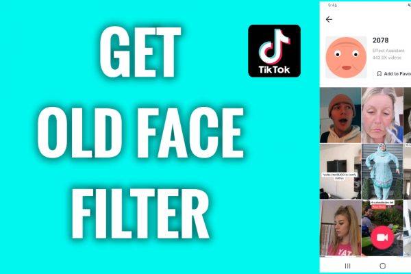 How to get an old face filter on TikTok