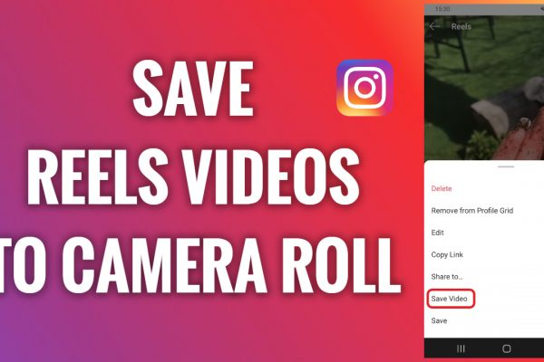 How to save Instagram Reels videos into a camera roll