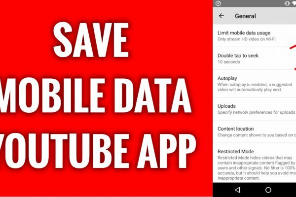 How to save mobile data watching videos on YouTube App