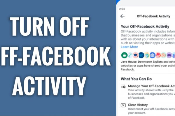 How to turn off Off-Facebook activity