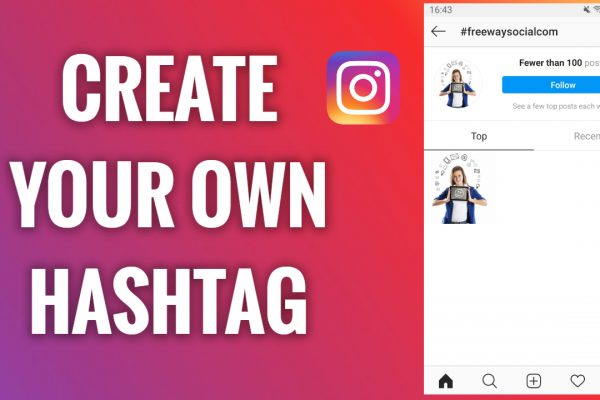 How to create your own hashtag on Instagram