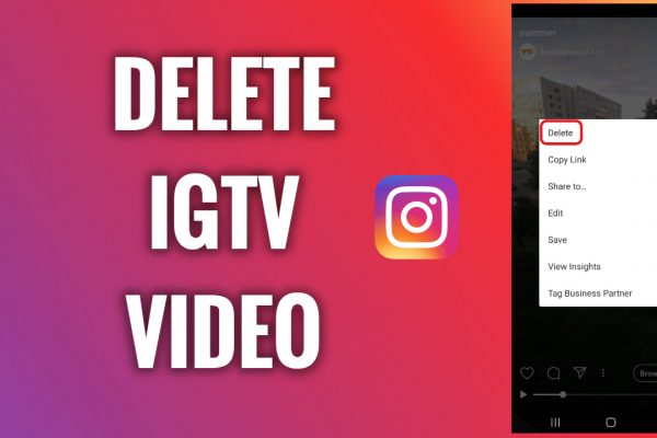 How to delete IGTV video on Instagram