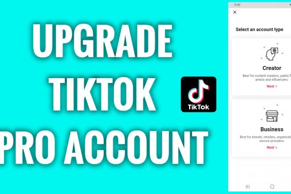 How to upgrade a TikTok Pro Account