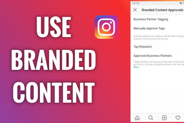 How to use Instagram branded content tools