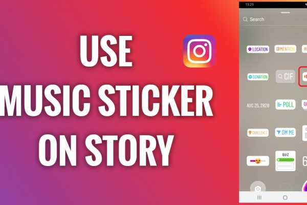 How to use a music sticker on an Instagram Story