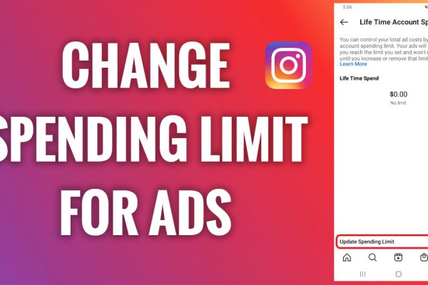 How to change a spending limit for Instagram ads