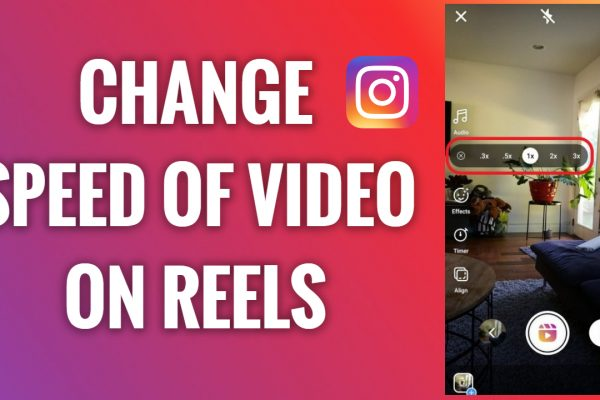 How to change the speed of a video on Instagram Reels