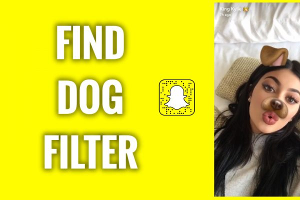 How to find Snapchat dog filter